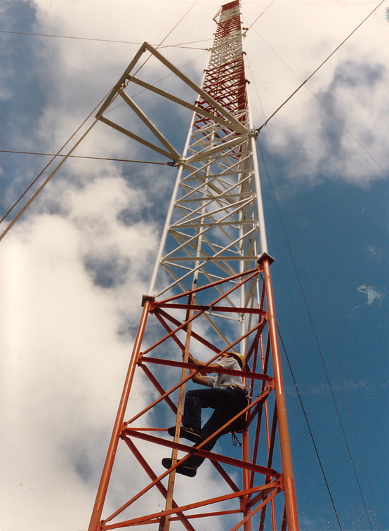 FEBC Saipan antenna tower.