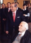 Billy Kim with Billy Graham