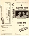 Call of the Orient brochure